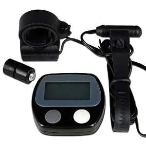 Technopro ® multifonction Mini Digital LCD de vélo compteur kilométrique ordinateur de vélo compteur de vitesse