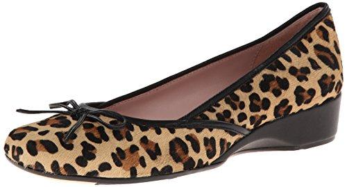 Taryn Rose Karumba Femmes Cuir Chaussure Plate Black