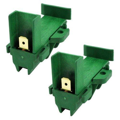 Beko Kohlebürsten für den Motor von Waschmaschine L24Mf7, 1 Paar, (2Stück) (Motor Bürsten-ersatz)