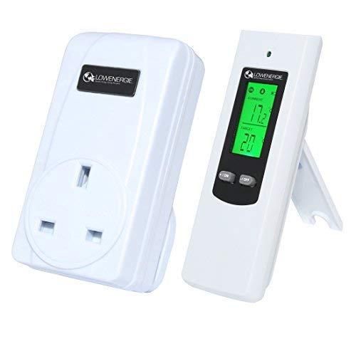 Kabelloser Digital Plug In Heizung Thermostat Fernbedienung Electric RF Steckdose Gewächshaus