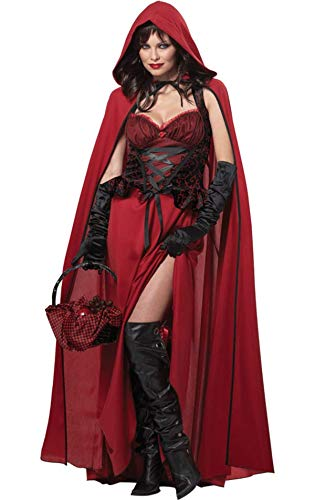 Generique - Kostüm böses Rotkäppchen Halloween XL (44/46)