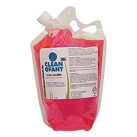Cleaner for caravans