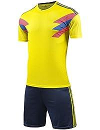 GDSQ Equipo De Fútbol Colombiano Establece La Camiseta De Los Fanáticos del Equipo Nacional 2018 Versión