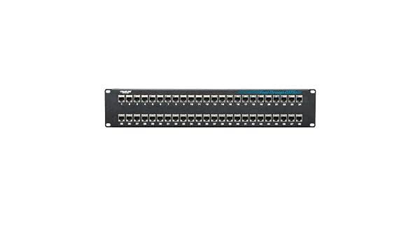NEW Black Box JPM806A-R2 CAT5e 48-Port Patch Panel 2U 48 x RJ Quantity Available