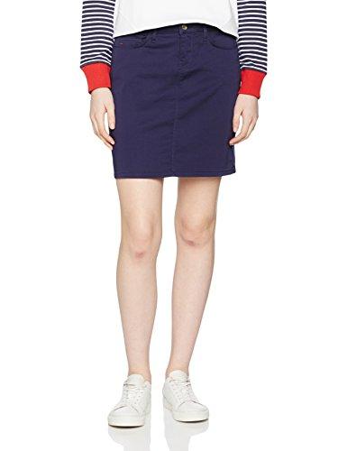 Tommy Hilfiger Silvana 5 Pkt Skirt, Jupe Femme Bleu (Peacoat 443)