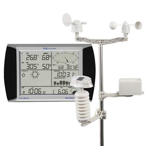PCE Instruments - Station météorologique PCE-FWS 20 à écran tactile