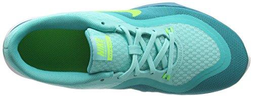 Nike WMNS Flex Trainer 6 - Sneakers Donna Turchese (Turquesa (Hypr Trq / Elctr Grn-Enrgy-Hypr))