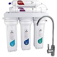 SMARDY Sistema de filtrado de agua, purificador de agua de ultrafiltracion, 2000L/día, 5 etapas