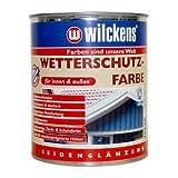 Wilckens Wetterschutzfarbe RAL 7016 Anthrazitgrau 750 ml