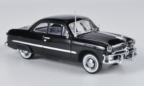 Ford customs 2-door Coupe, black , 1949, Model Car, Ready-made