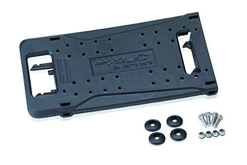 XLC Unisex- Erwachsene BA-X13 Adapterplatte Carry More, Schwarz, One Size Platte Rack