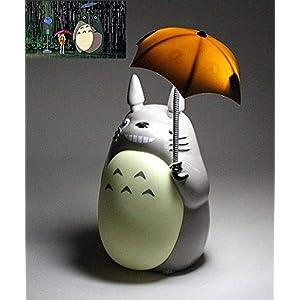 LPOIKGLC Totoro Anime LED-Nachtlicht [Green Belly], PO2015-S256 Kinder-Charakter-Lampe, USB-Aufladung, Schreibtisch…