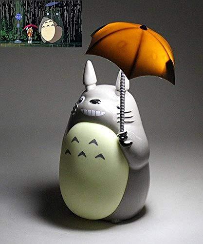 LPOIK Totoro Anime LED-Nachtlicht [Green Belly], PO2015-S256 Kinder-Charakter-Lampe, USB-Aufladung, Schreibtisch-Nachttisch-Leselampe