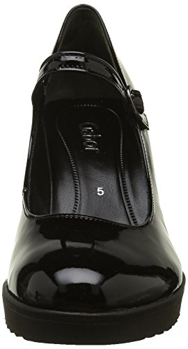 Gabor Shoes Fashion, Scarpe con Tacco Donna Nero (Schwarz 97)