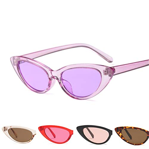 Sport-Sonnenbrillen, Vintage Sonnenbrillen, Oval Sun Glasses Women Cat Eye Sunglasses Women Small Retro Vintage Tiny Cateyes Eyewear as picture Black
