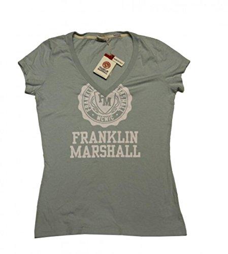 Franklin & Marshall Designer Shirt Girly Jade - Made in Italy - T-Shirt, grösse:L