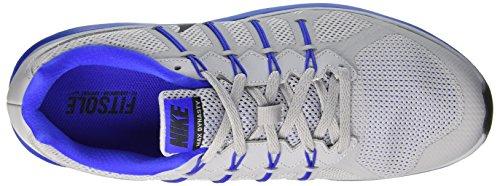 Nike Air Max Dynasty, Entraînement de course homme Multicolore - Multicolore (Wolf Grey/Black-Racer Blue)
