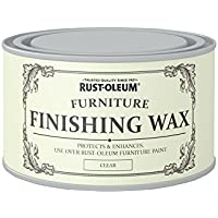 Rust-Oleum ROLFFWCL400 Furniture Finishing Wax, Clear, 400 ml