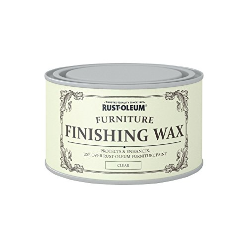 Rust-Oleum AMZ0038 A Clear, colourless Wax Polish That Should be Used to Protect The Finish Achieved Furniture Paint