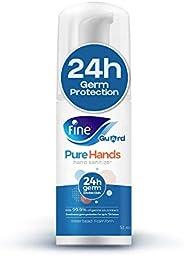 Fine Guard PureHands 24hr Protection, Hand Sanitizer - 50ml