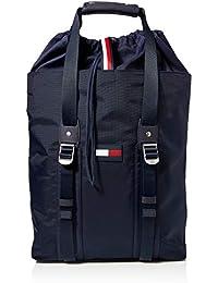 Tommy Hilfiger Nautical Nylon Tote, Sacs portés épaule homme, Bleu (Sky Captain), 1x1x1 cm (W x H L)