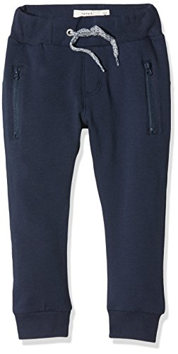 NAME IT Baby-Jungen Hose NKMHONK BRU SWE Pant NOOS, Blau Dress Blues, 92