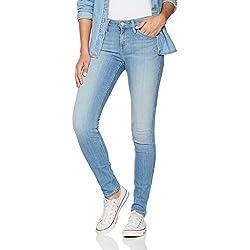 Lee Damen Skinny Jeans Scarlett, Blau (70S Fresh Blue Pfdq), W30/L35
