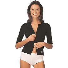 Turbo Cell Bodyforming – Chaqueta Brazos, cintura + tronco, color negro, tamaño XXL