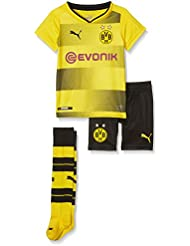 Puma BVB Home Minikit Socks Sponsor Logo With Packaging Football T-shirt