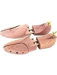 Un Par de Hormas Árbol De Zapatos De Madera Hormas Ajustables Para Hombres US Tamaño 12-13