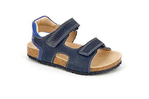 Pablosky 572326, Sandales Mixte Enfant Bleu