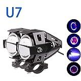 Guance U7 Led Fog Light Bike Driving Drl Fog Light Spotlight, High/Low Beam