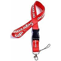 Supreme Lanyard Urban Streetwear - Cordón para llaves, diseño de identificación