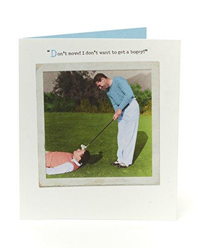 Funny Humorvolle Golf Geburtstag Karte