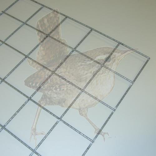Gabionengitter geschweißt 100/100/3,5, Gittergröße 500 x 500 MM