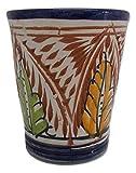Bicchiere Ceramica Terracotta tè Marocchino Vino Acqua Decorato Dipinto a Mano Etnico Tradizionale Marocco 111018 1507