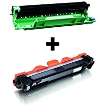 Toner Cartridge + Drum (Tambor) Rem. NON OEM for TN1050 / DR1050 for Brother DCP-1510 / DCP-1512 / DCP-1610W / DCP-1612W / HL-1110 / HL-1112 / HL-1210W / HL-1212W / MFC-1810 / MFC-1910W Printers - Toner 1.500p/5% - Drum 10.000p./5% - High Quality
