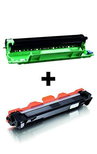 Toner Cartridge + Drum (Trommel) Rem. Non oem FOR TN1050/DR1050Für Brother DCP-1510/DCP-1512/DCP-1610W/DCP-1612W/HL-1110/1112/HL-1210W/HL-1212W/MFC-1810/MFC-1910W Printers–Toner 1.500p/5% Drum 10.000P./5%–High Quality
