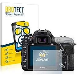 Protector Pantalla Cristal para Nikon D7500 Cristal Vidrio