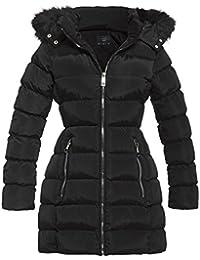 SS7 Women's Faux Fur Hood Padded Winter Parka Coat, Sizes 8 To 16