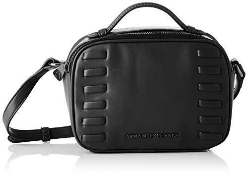 fd31f2a7706faa ARMANI EXCHANGE Small Crossbody Bag - Borse a tracolla Donna, Nero (Black),