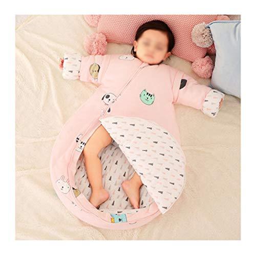 Wolaoma Baumwolle Baby Schlafsack Baby Vier Jahreszeiten Schlafsack Anti-Kick-Schlafsack (Farbe : B, größe : 90 Yards)