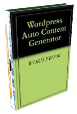 WordPress Auto Content Generator (English Edition)