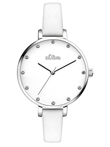 s.Oliver Damen-Armbanduhr SO-3455-LQ