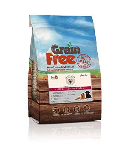 Daniels Tasty Petfoods Welpenfutter für Erwachsene Hunde Nahrungsmittel, Wild, Sweet Potato & Mulberry