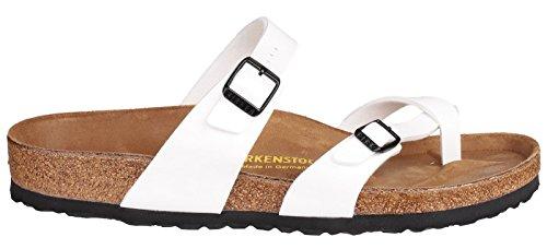 Birkenstock Mayari Ladies estate sandalo Bianco