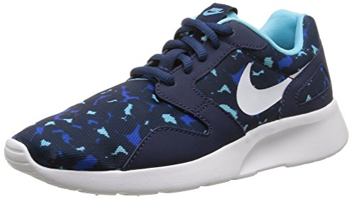 Nike Wmns Kaishi Print, Scarpe sportive, Donna, Multicolore (Midnvy-White), 38.5