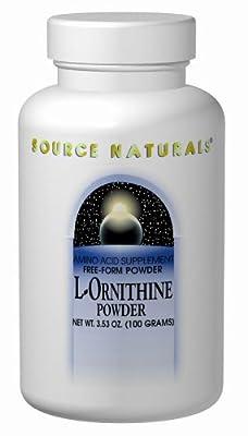 Source Naturals L-Ornithine, Powder 100 Gm 3.53 Oz