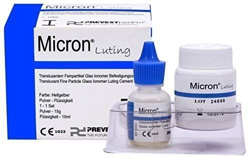 Dental Translucent Fine Particle Glass Ionomer Luting Cement -Micron Luting by PD -
