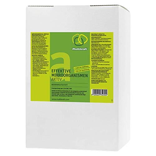Efectiva microorganismos activo (EM de suelo activo), plástico–Abono–5Litros Caja/bag